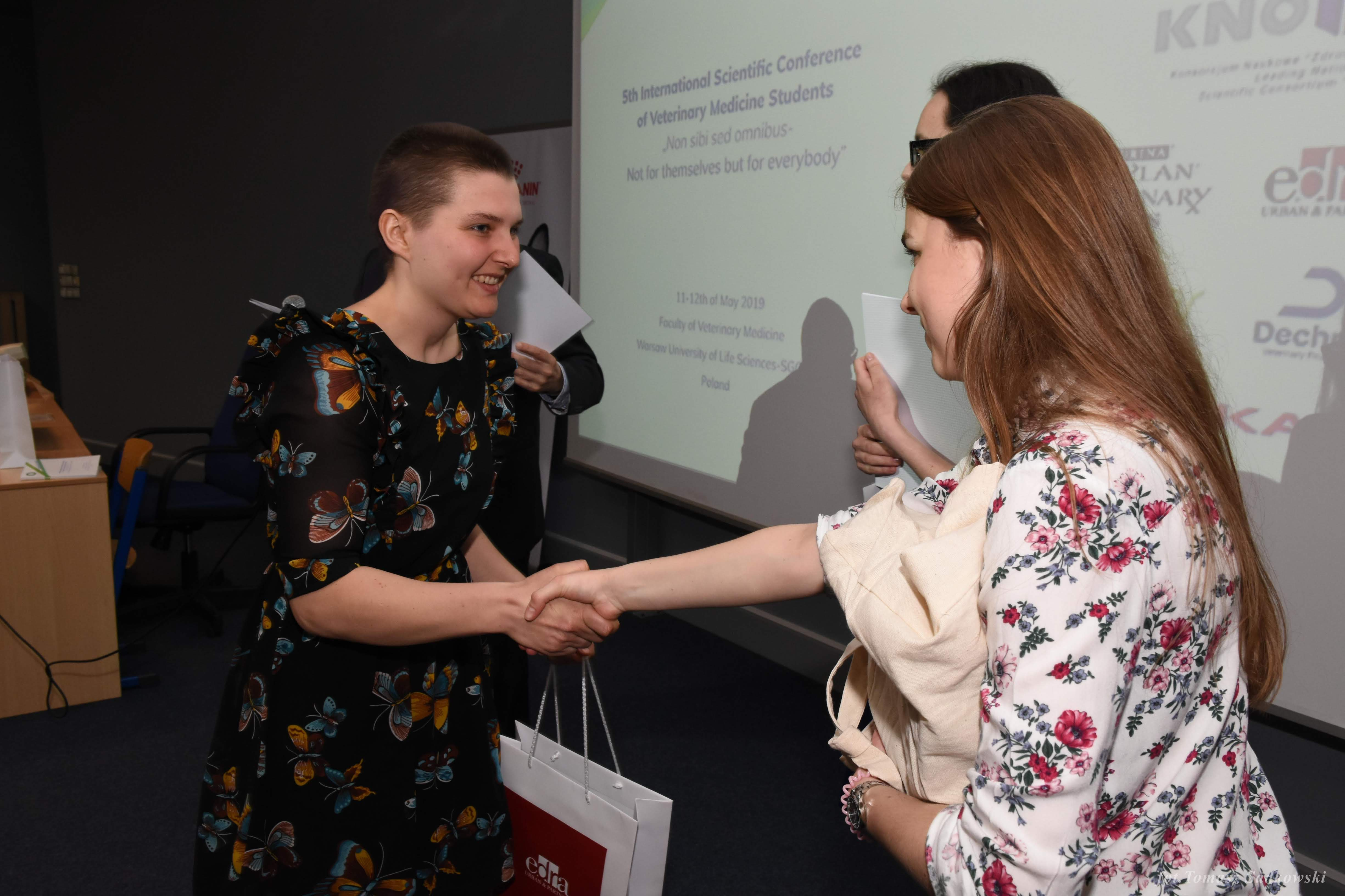 Dominika Sobucka distinguished for 'The utilization of blood immunoglobulin and acute phase proteins measurement in the monitoring of health of beef calves in extensive livestock production'