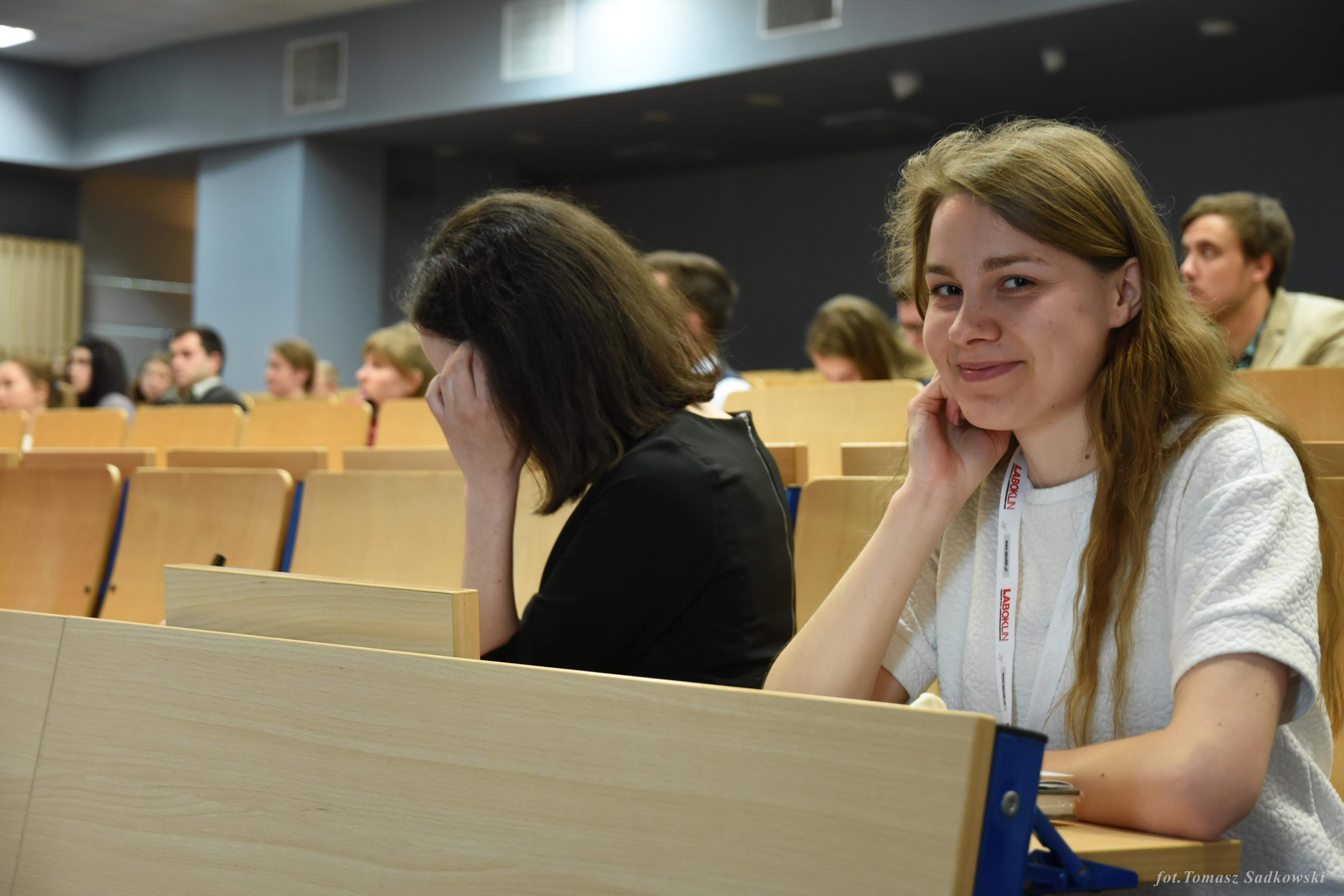 Kasia Urbańska, vice president of our society