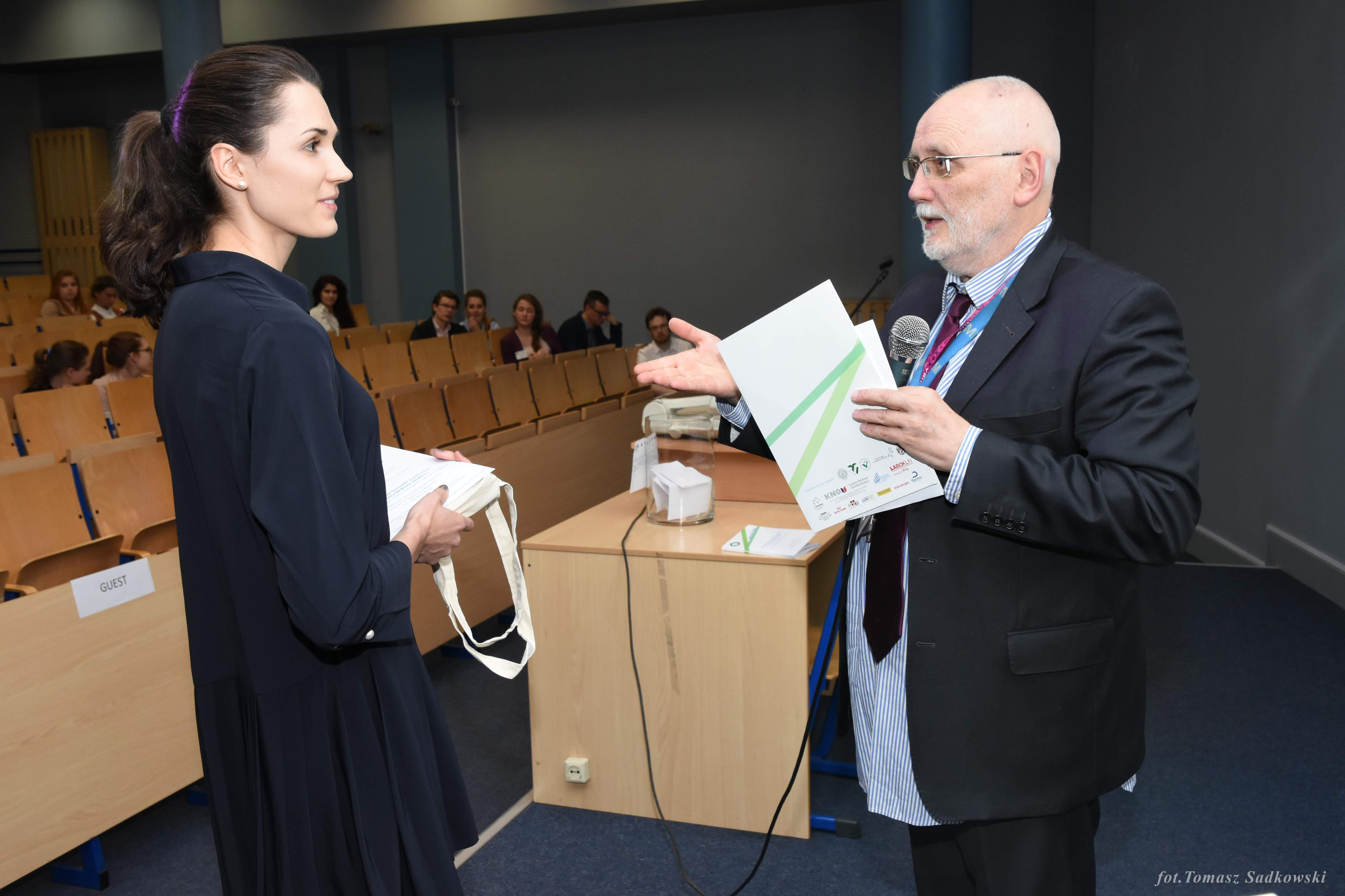 Magdalena Sochoń awarded in small animals session