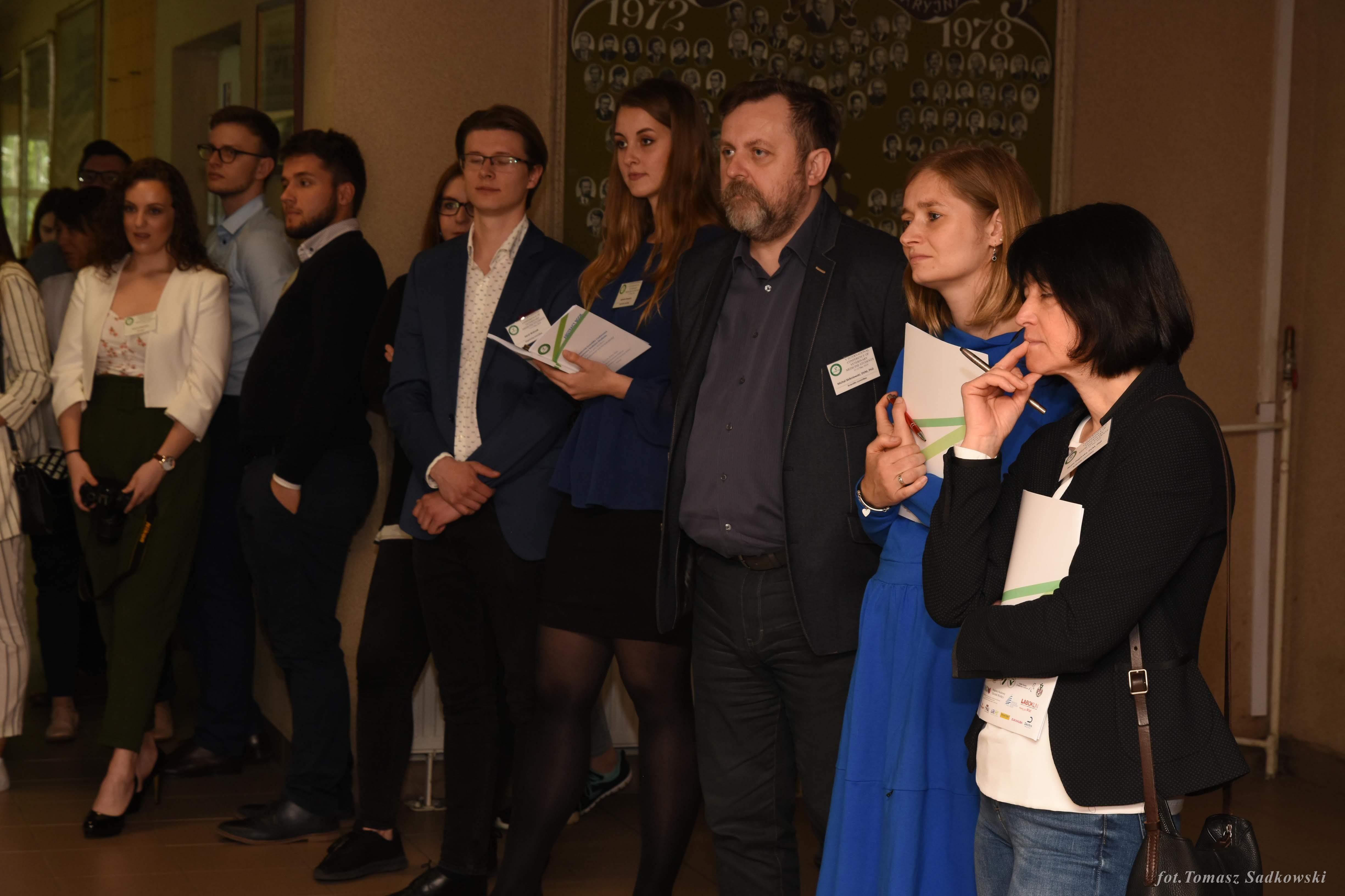Scientific Commitee, small animals session -from the left Michał Skibniewski DVM PhD, Marta Parzeniecka-Jaworska DVM PhD, Beata Degórska DVM PhD