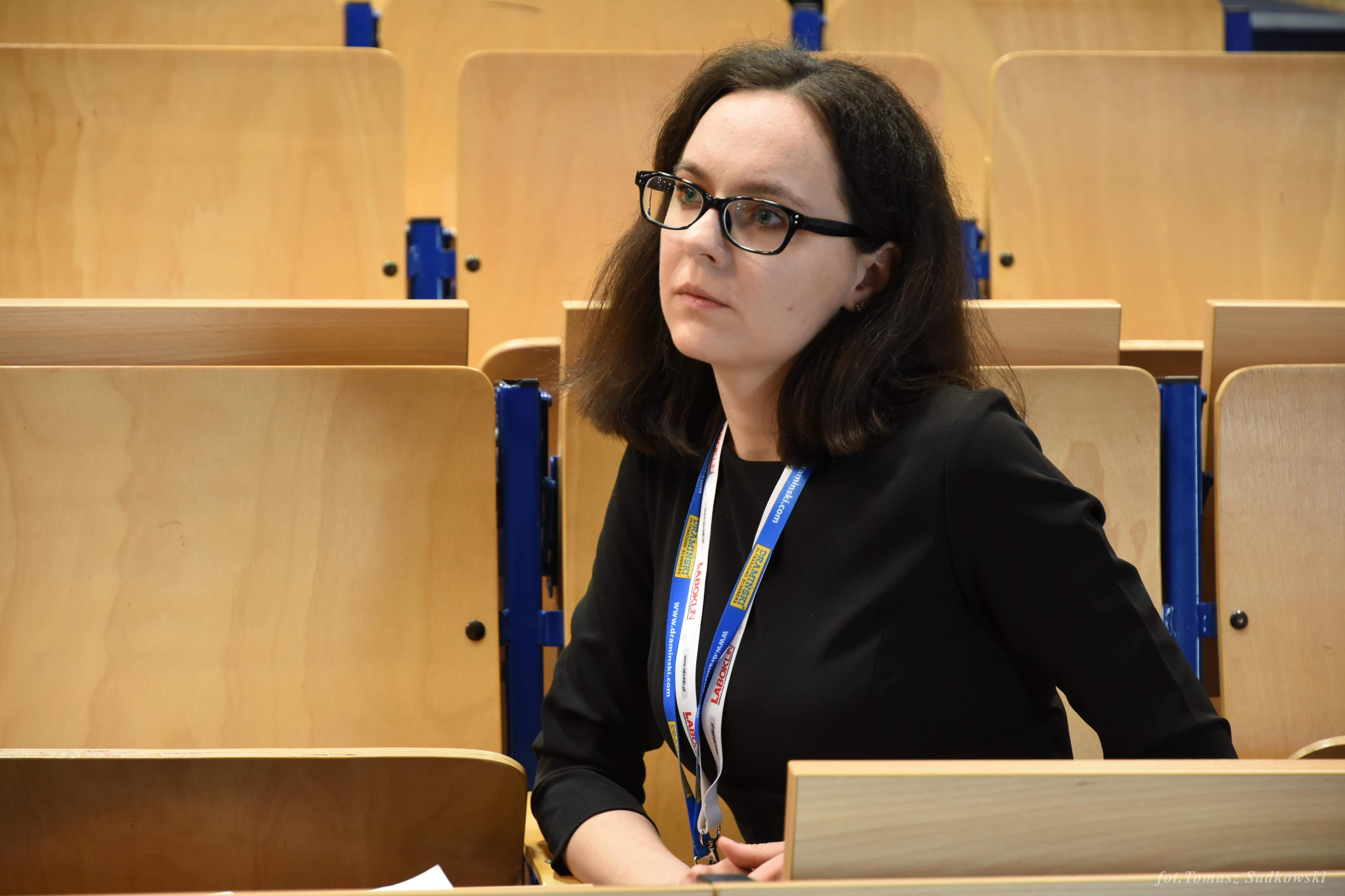Zuza Strzałkowska, president of our society