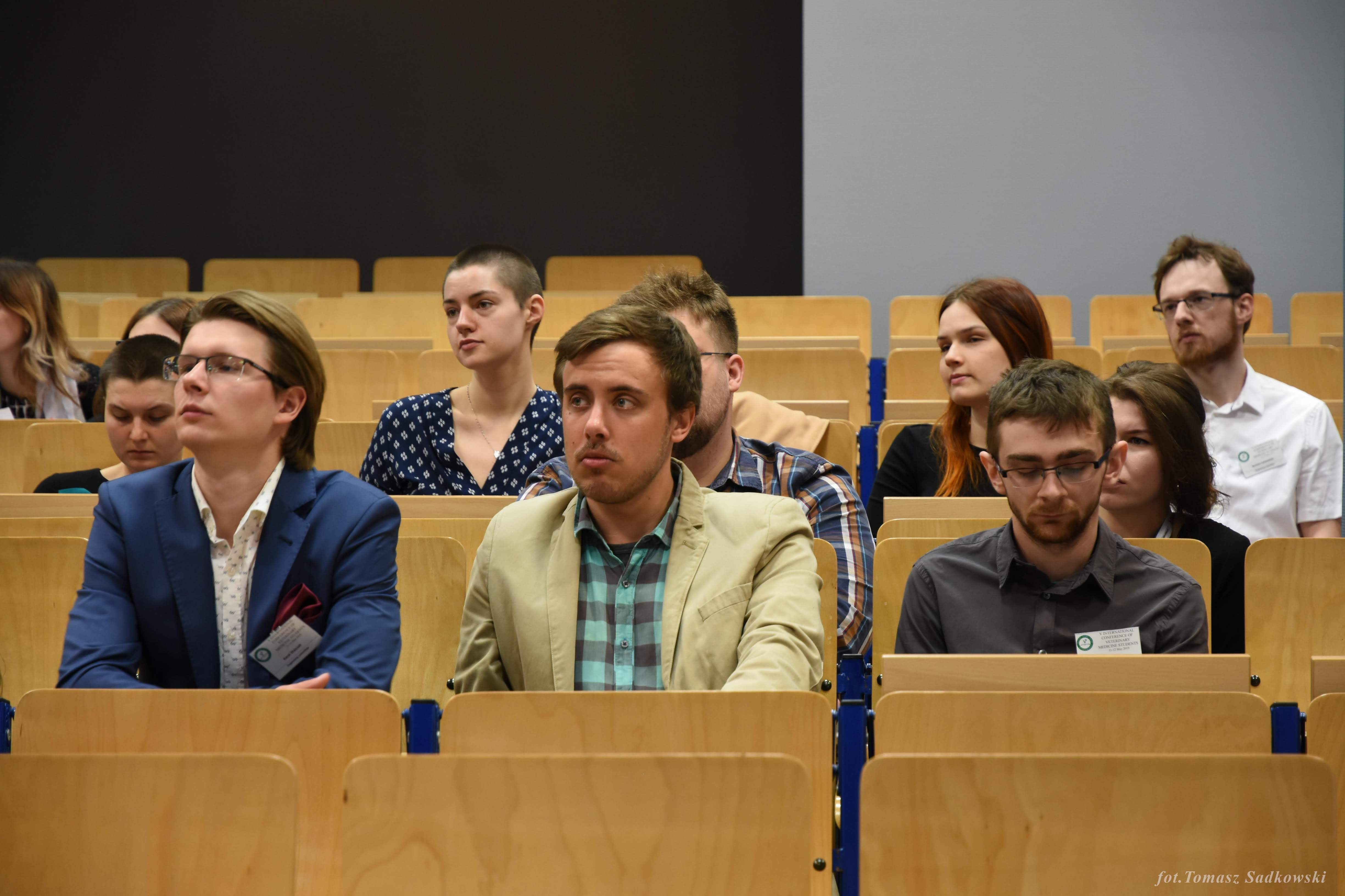 audience during dr. Louton's lecture